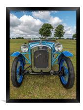 Blue Austin, Framed Print