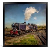 Garratt No. 87 Loco, Framed Print