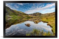 Mountain Reflection, Framed Print