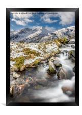 Winter Landscape, Framed Print
