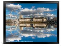 London Eye, Framed Print