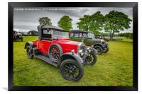 Wolseley Classic Car, Framed Print