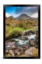 Tryfan Snowdonia National Park, Framed Print