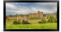 Alnwick Castle, Framed Print