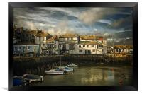 Falmouth harbour, Framed Print