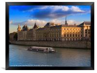 Conciergerie, Paris, Framed Print