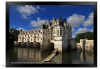 Chateau Chenonceau, Loire Valley, France, Framed Print