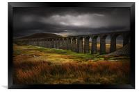 Ribblehead viaduct, Framed Print