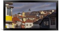 Bergen street, Framed Print