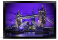 Tower Bridge London, Framed Print