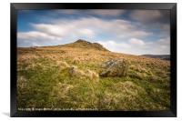 Crook Hill Approach, Framed Print