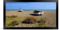 Aldeburgh Suffolk, Framed Print