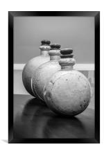 Perfumed Soldiers, Framed Print