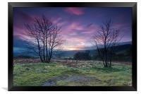 Hope Valley Sunrise, Framed Print