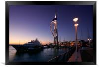 Portsmouths Spinnaker Tower 2, Framed Print