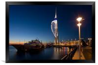 Portsmouths Spinnaker Tower 3, Framed Print