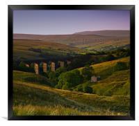 Yorkshire Dales Railway Viaduct, Framed Print