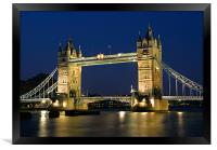 Tower Bridge, London, Framed Print