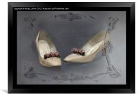 These Shoes Used to Dance, Framed Print