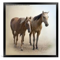 Just Us Two, Framed Print