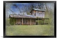 American West Homestead, Framed Print