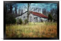 Old Barn, Framed Print