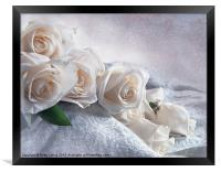 A Spill of Roses, Framed Print