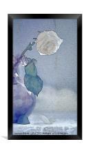 Moody Blue, Framed Print