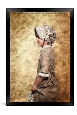 The Pioneer Girl 2, Framed Print