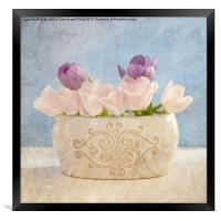 Pastel Still Life, Framed Print
