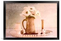 Daisies, Framed Print