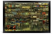 Brixham Harbour, Framed Print