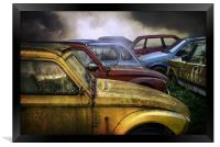 Cars, Framed Print