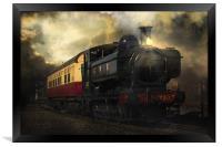 Night Train, Framed Print