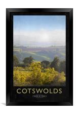 Cotswolds, Framed Print