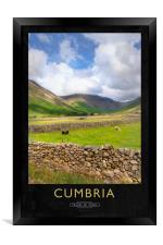 Cumbria, Framed Print