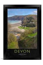 Devon, Framed Print