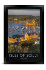 Isles of Scilly, Framed Print