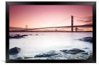 Forth Road Bridge, Framed Print