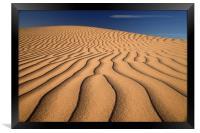 Sand Dune, Framed Print