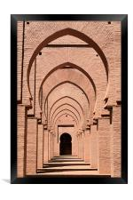 Mosque arches 2, Framed Print