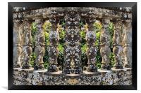 Columns, Framed Print