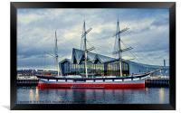The Tall Ship at Glasgows Riverside Museum (2), Framed Print