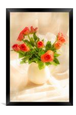 Red Roses, Framed Print