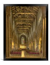 Holy Rude Church Stirling, Framed Print