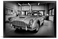 Aston Martin, Framed Print