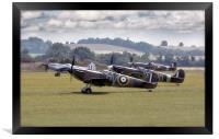 Spitfires, Framed Print