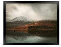 Highland View, Framed Print