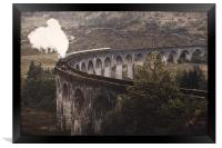 Glenfinnan Viaduct.                    , Framed Print