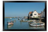 Wells Next The Sea Harbour, Framed Print